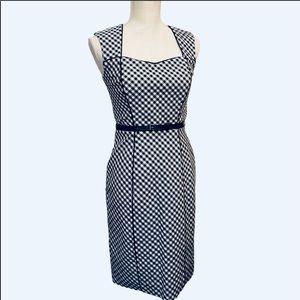 WHBM Gingham sheath dress